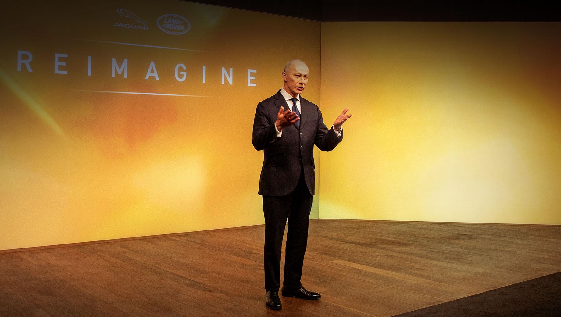Jaguar Land Rover переосмыслит себя по плану Reimagine