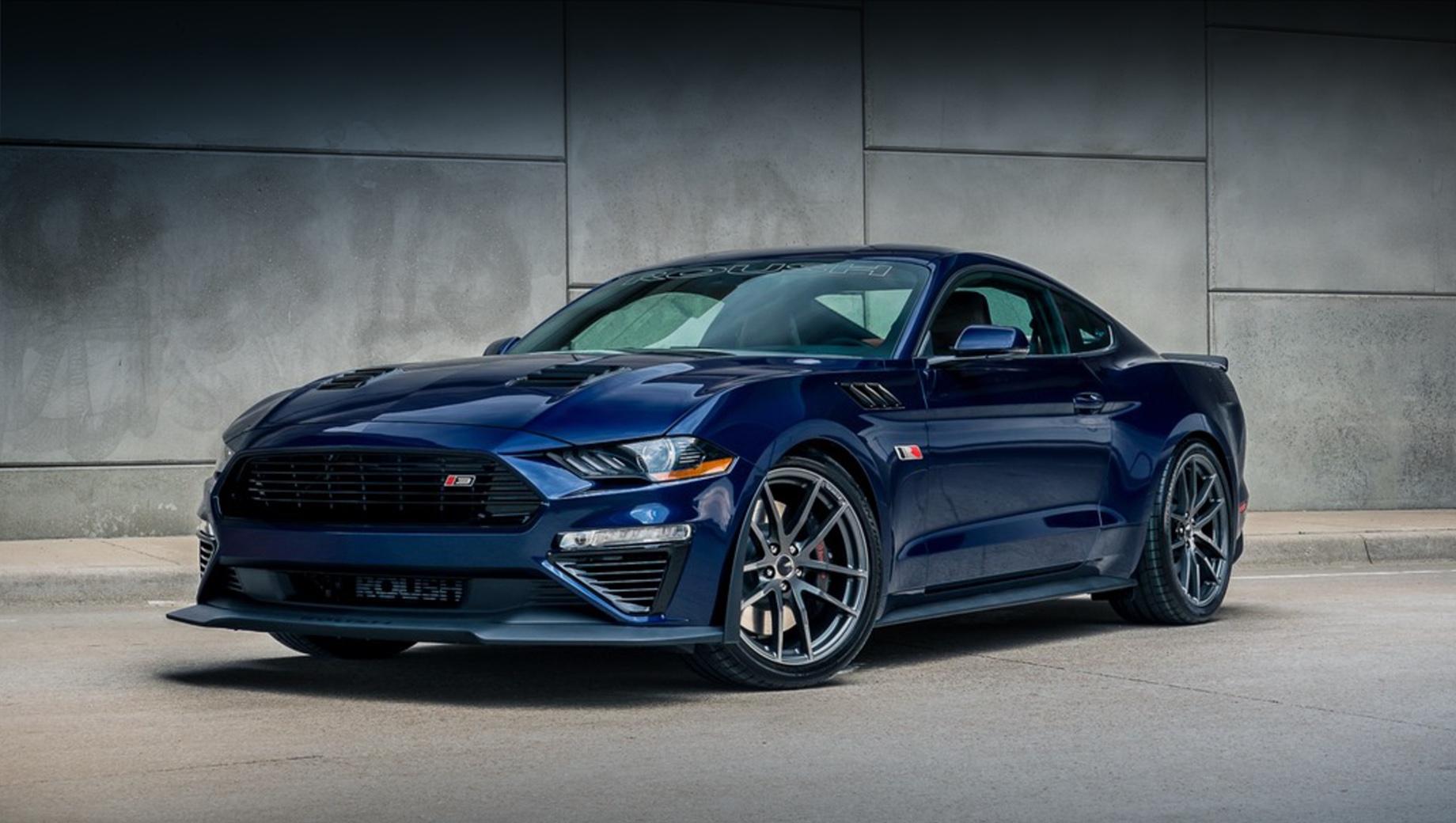 Ford Mustang от фирмы Roush в этом году порадует отдачей