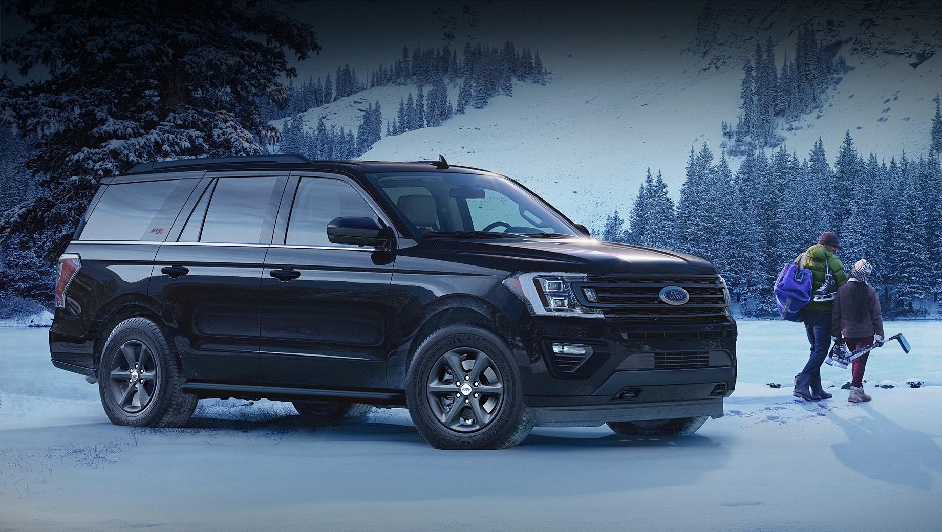 Ford Expedition XL STX предложил пятиместный салон