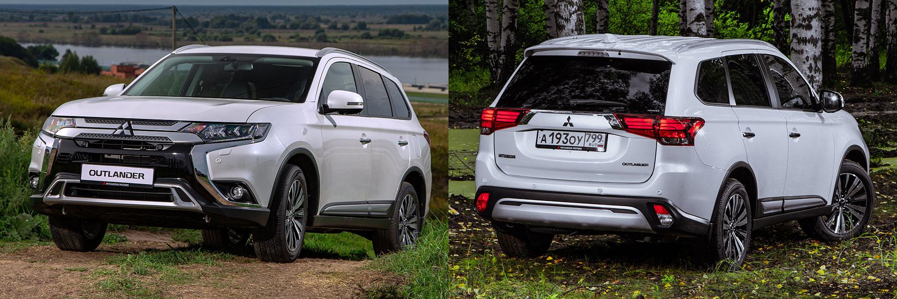 Новый Mitsubishi Outlander доедет до России в 2022 году