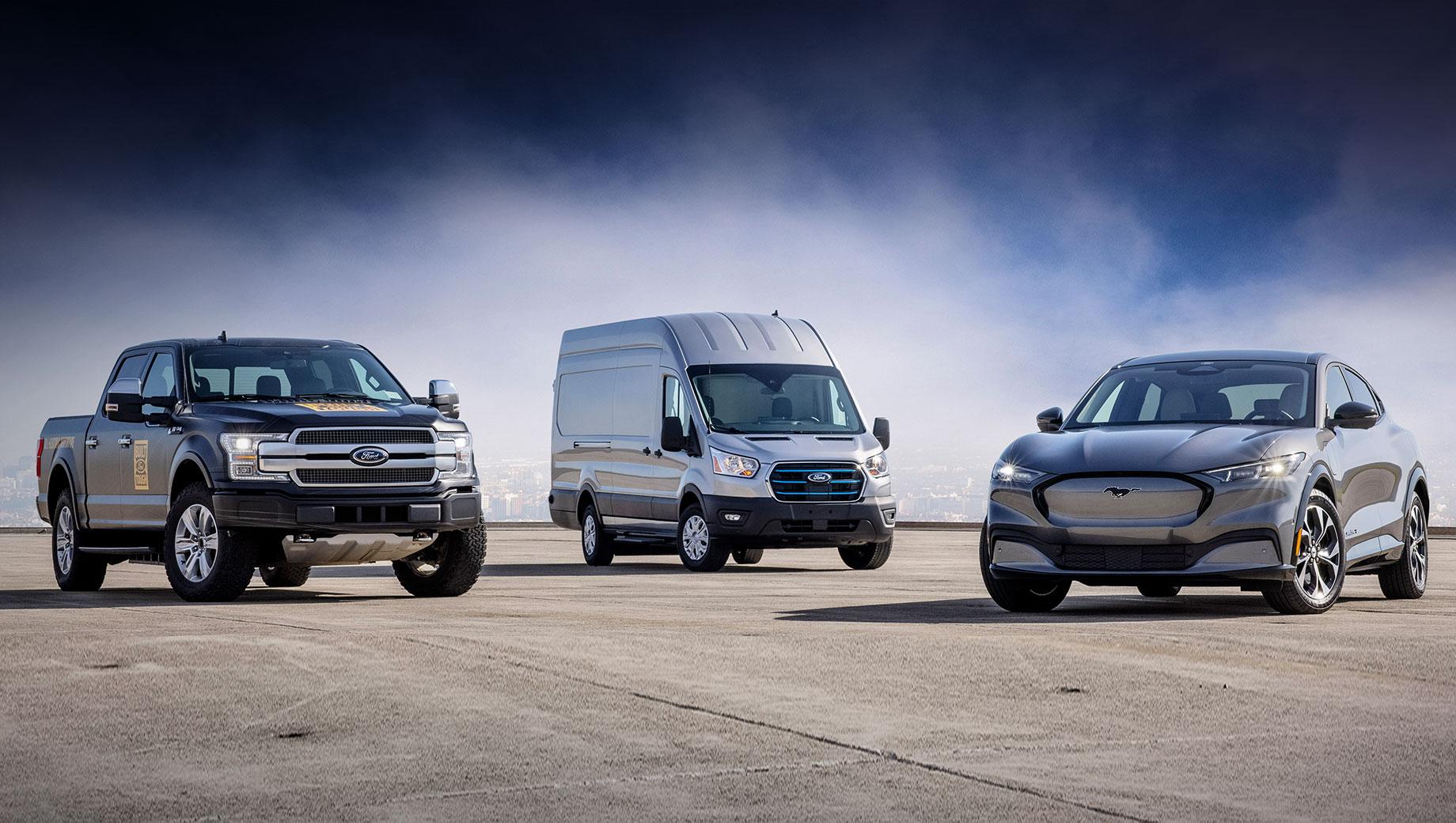 Ford электрифицирует все легковушки в Европе с 2026 года