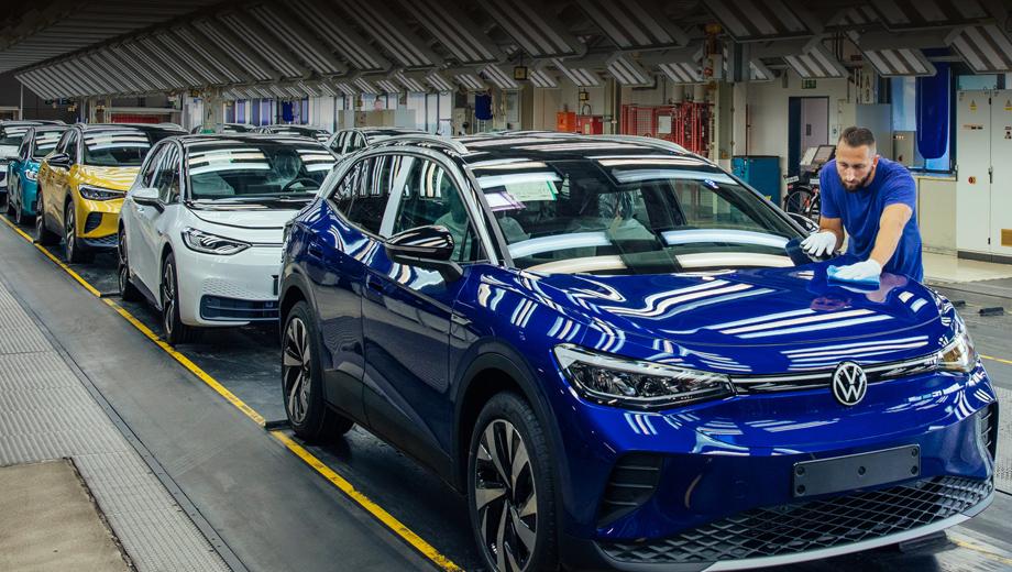 Volkswagen ID.5 поступил в предсерийное производство