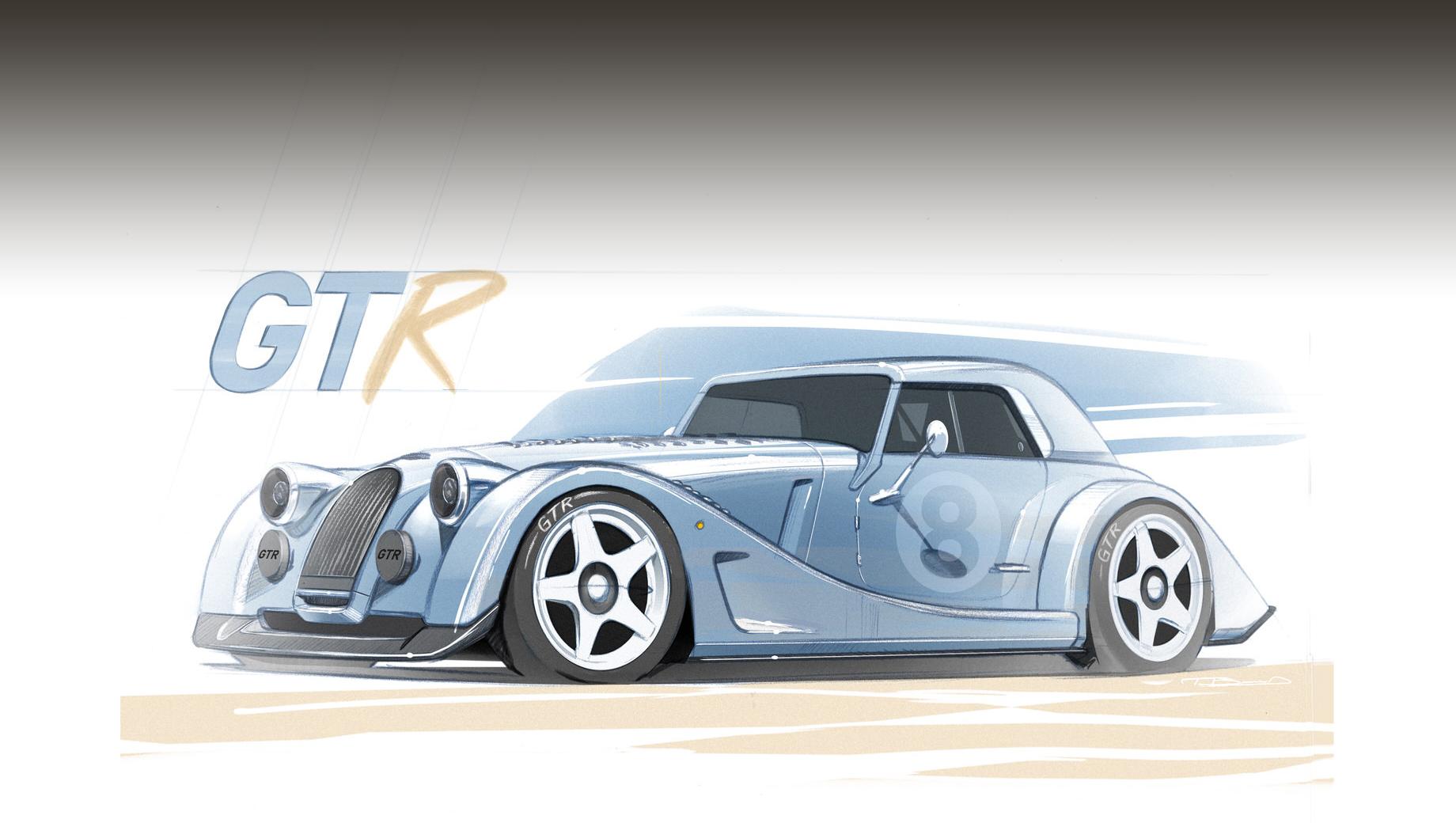 Morgan Plus 8 GTR ненадолго вернёт в строй атмосферник 4.8