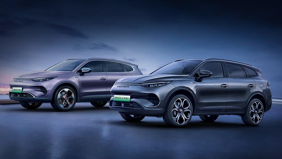 Daimler вспомнил о своём китайском бренде Denza