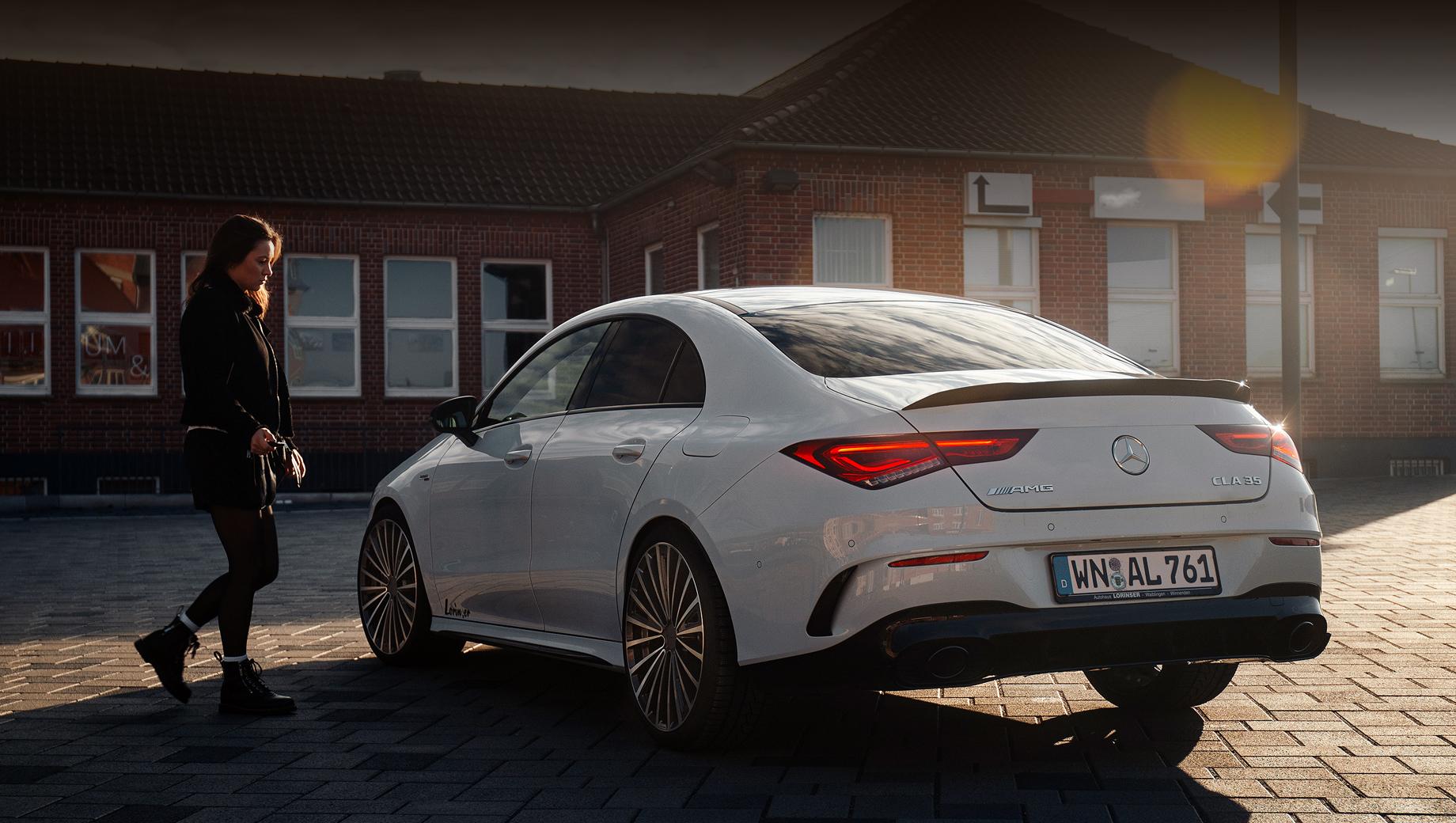 Бюро Lorinser приблизило Mercedes-AMG CLA 35 к старшему собрату