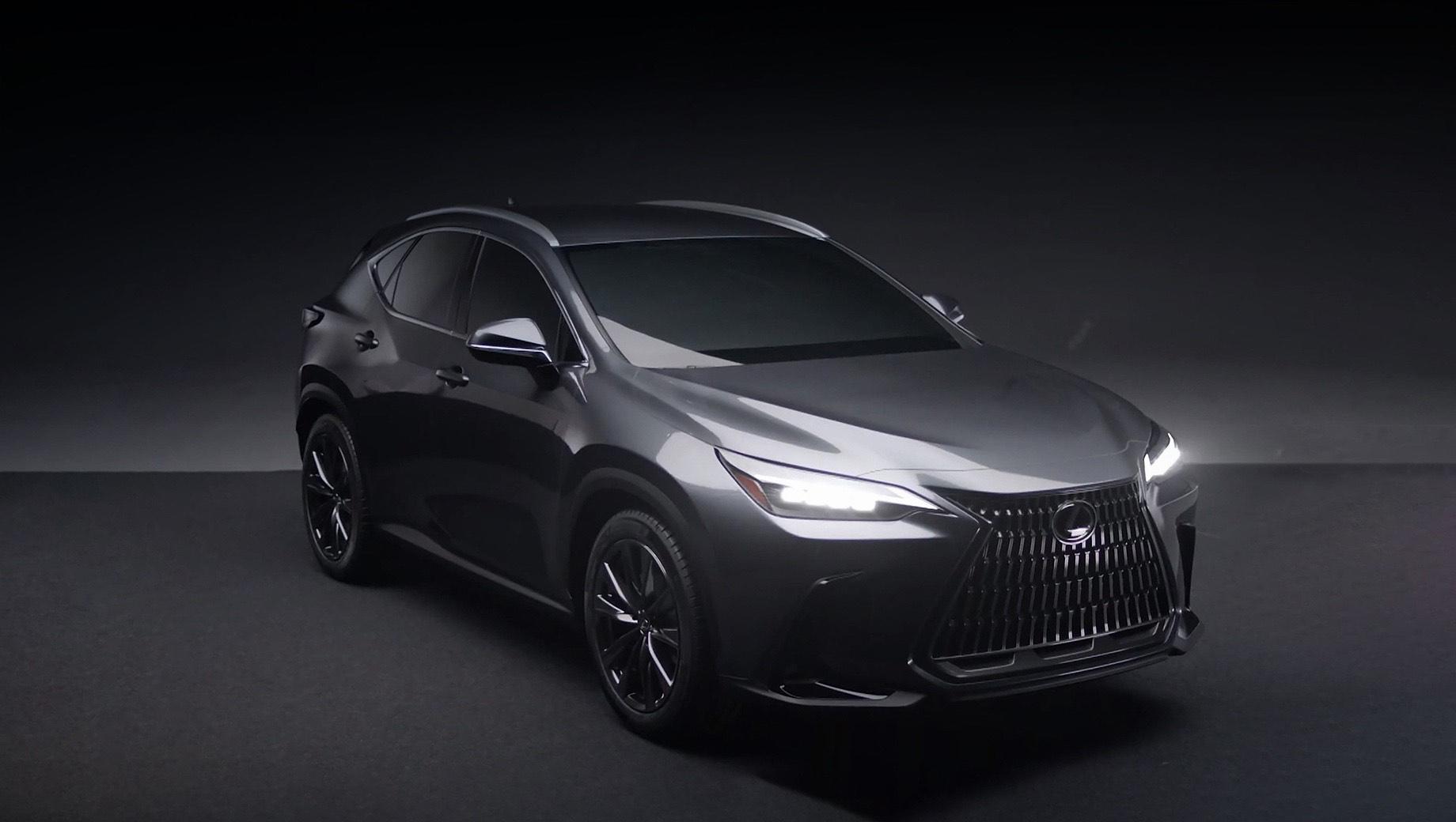 Кроссовер Lexus NX нового поколения засветился в Сети