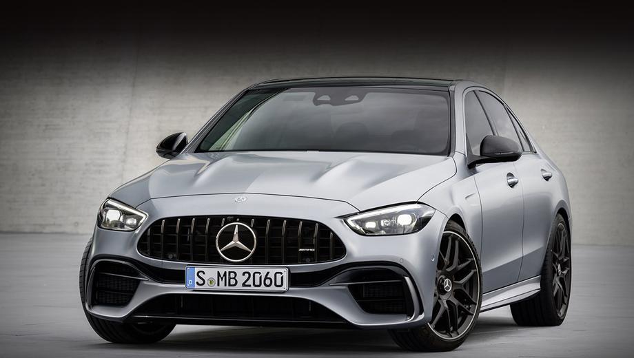 Двухлитровый Mercedes-AMG C 63 превзойдёт по динамике предка с V8