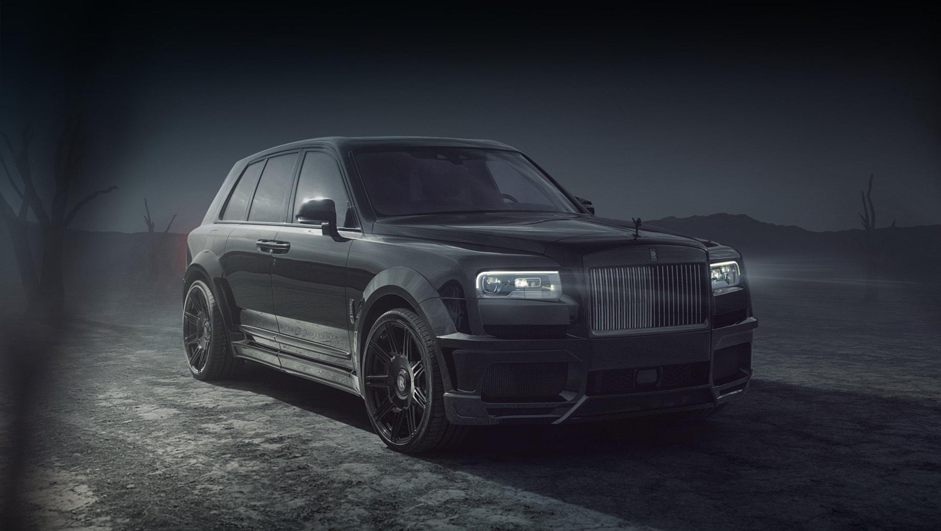 Ателье Spofec добавило прыти кроссоверу Rolls-Royce Cullinan