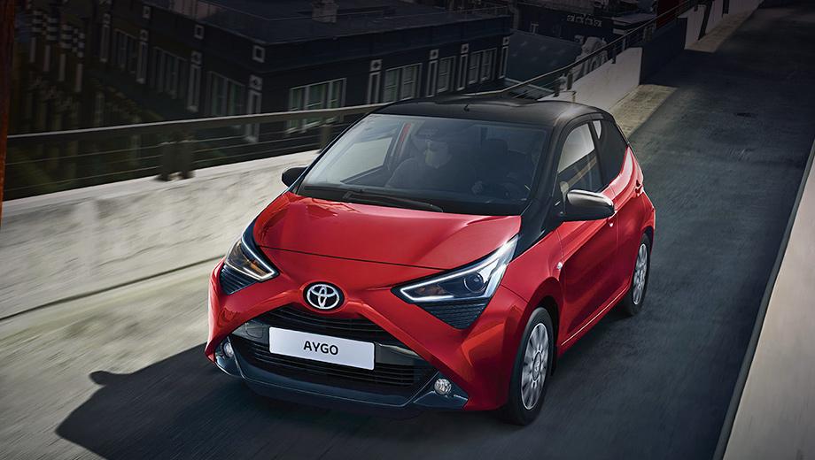 Новая Toyota Aygo для Европы получит обычный ДВС