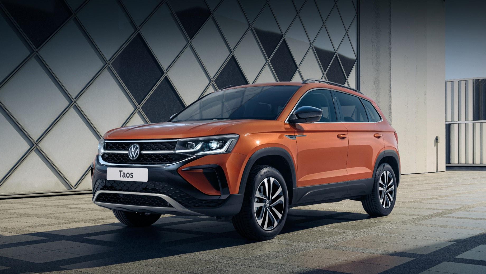 Российский Volkswagen Taos поступит в продажу летом