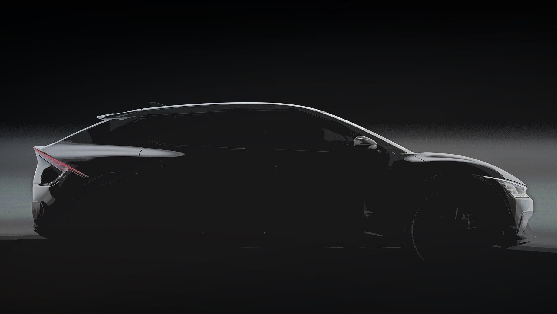 Хэтчбек Kia EV6 первым применит новую номенклатуру