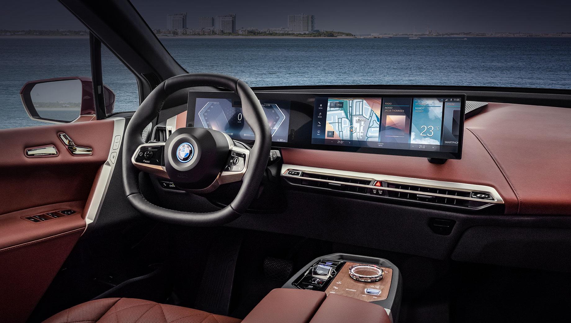 Компания BMW представила продвинутый комплекс iDrive 8