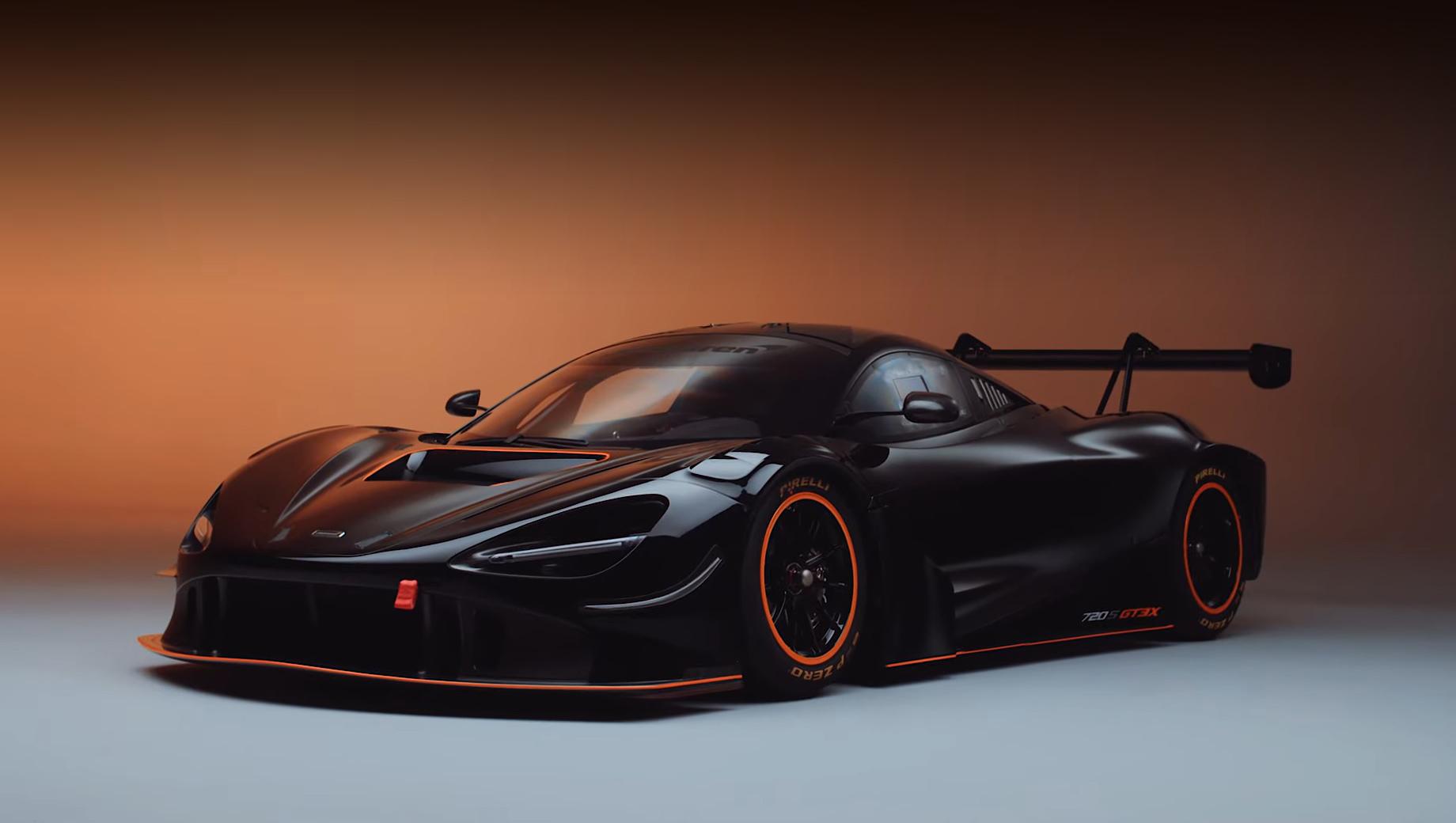 Купе McLaren 720S GT3X порадует любителей трек-дней мощностью
