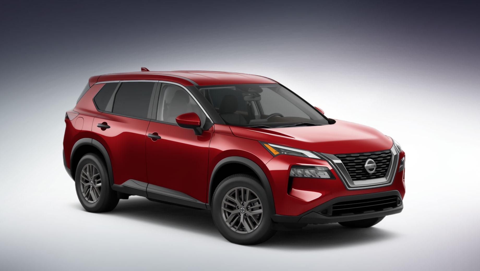 Nissan x-trail. Снаружи китайский Nissan X-Trail и североамериканский Rogue немного отличаются оформлением бамперов. Интерьер машины для Поднебесной не показан, но он едва ли будет сильно разниться от такового в Роуге.