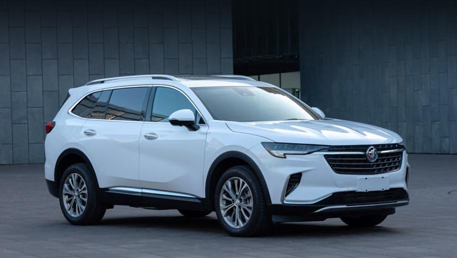 Семиместный Buick Envision Plus проявился на снимках из Китая