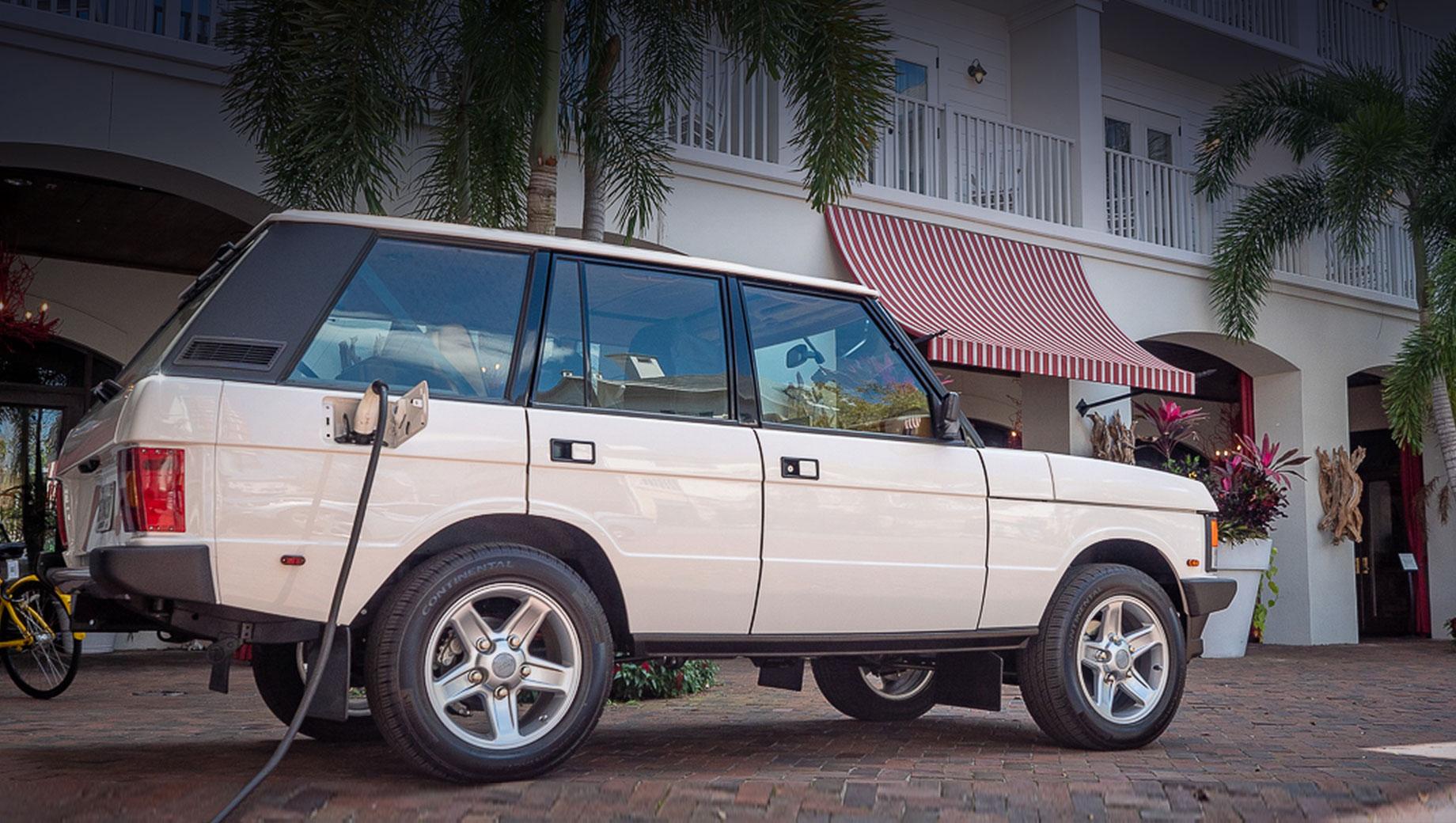 Бюро E.C.D. поддержало тренд с электрокаром Range Rover Classic