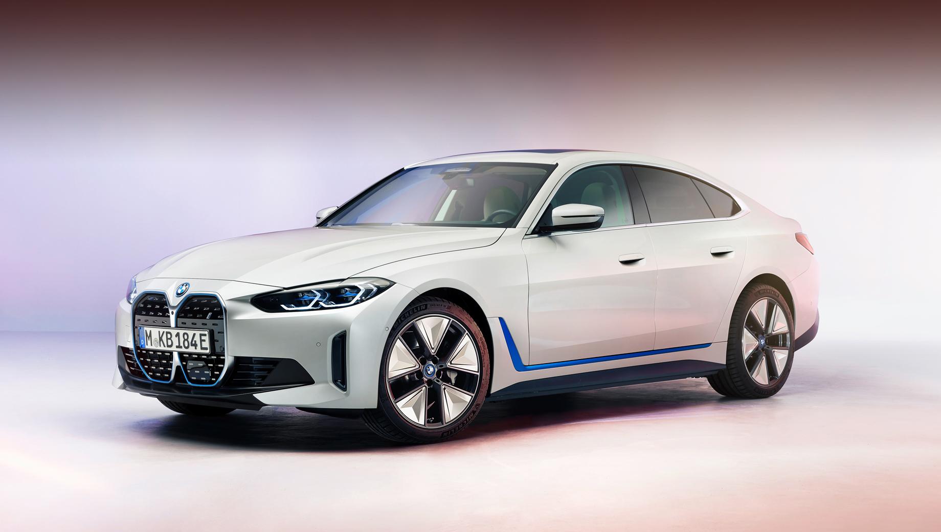 Раскрыты внешность и параметры электрокара BMW i4