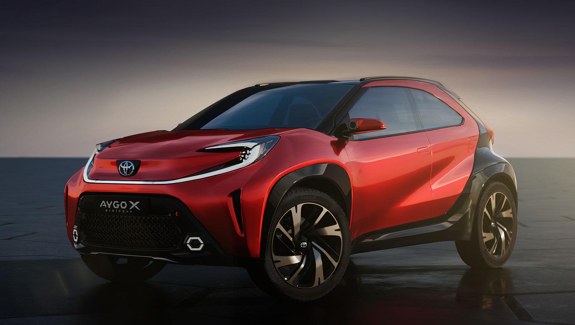 Концепт Toyota Aygo X prologue внёс оживление в сегмент А