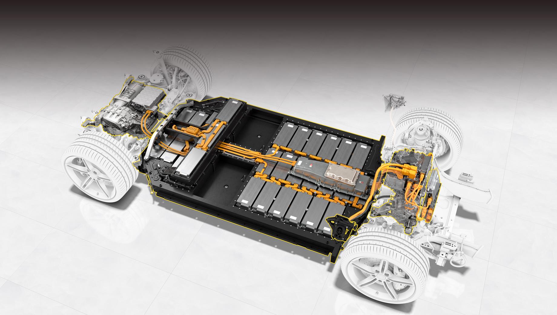 Porsche создаст мощные и ёмкие батареи с кремнием