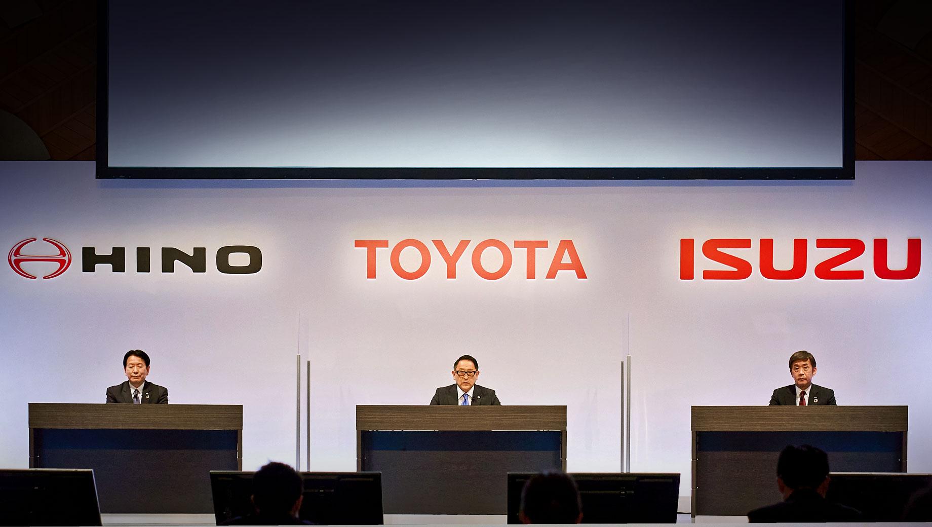 Toyota, Isuzu и Hino договорились об электрификации комтранса