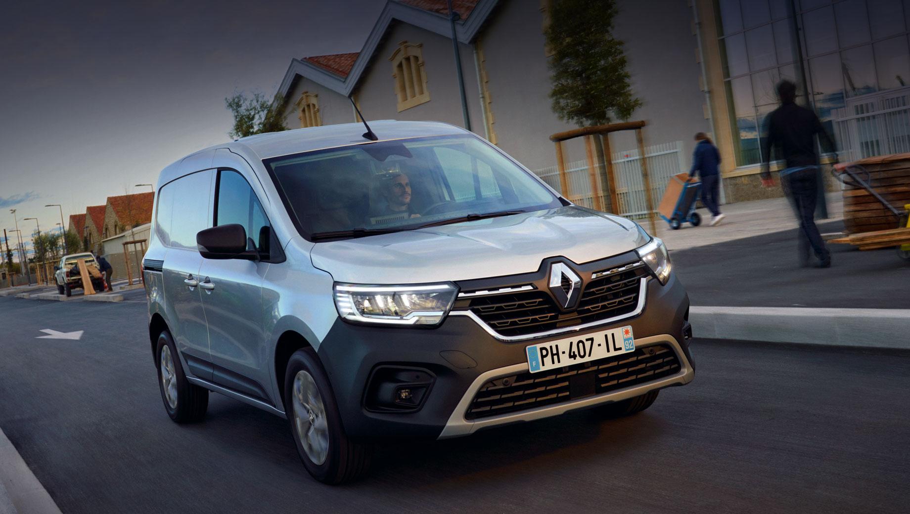 Новый Renault Kangoo Van предъявил характеристики