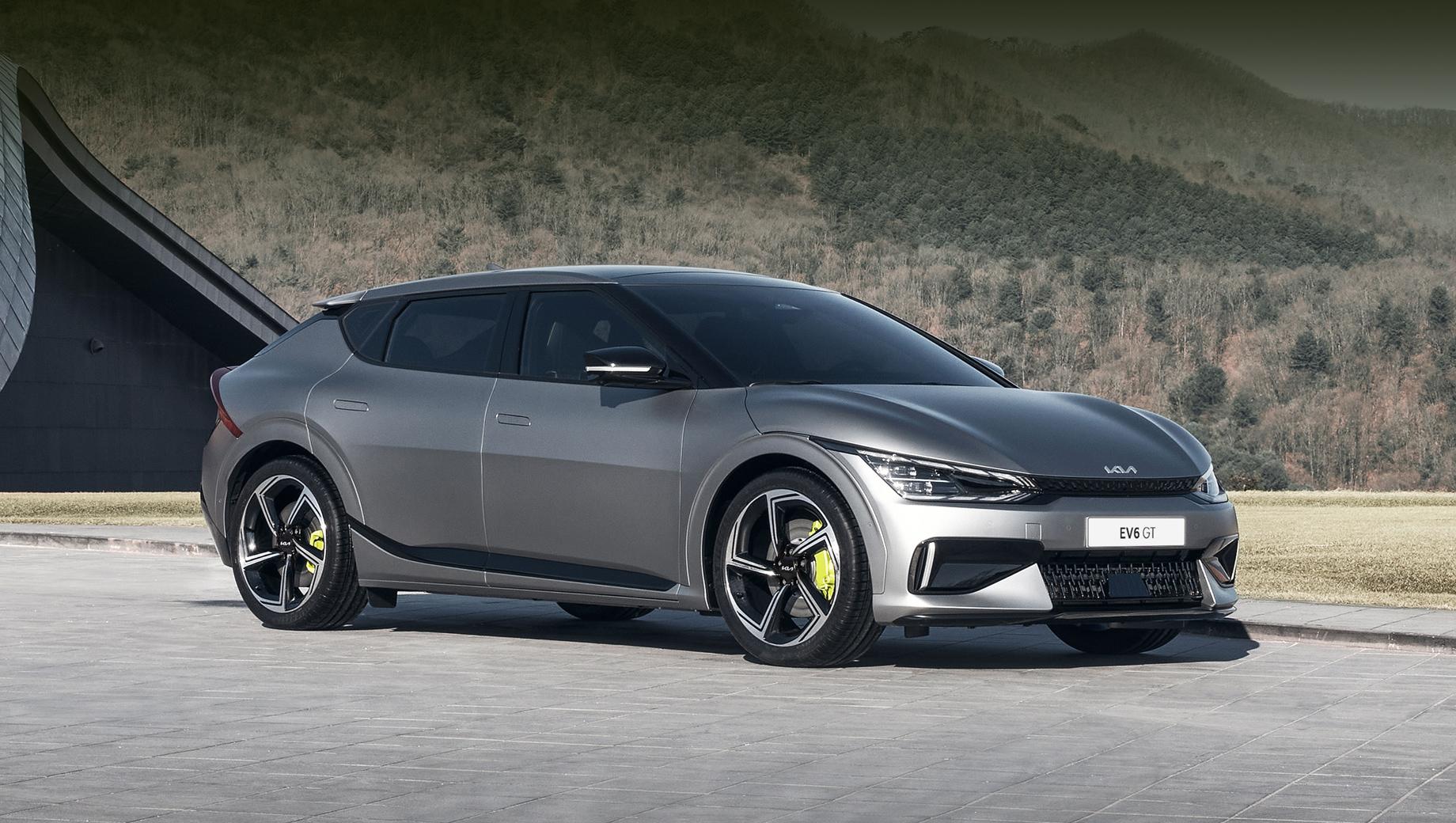 Kia EV6 полностью раскрылся в версиях GT и GT-Line