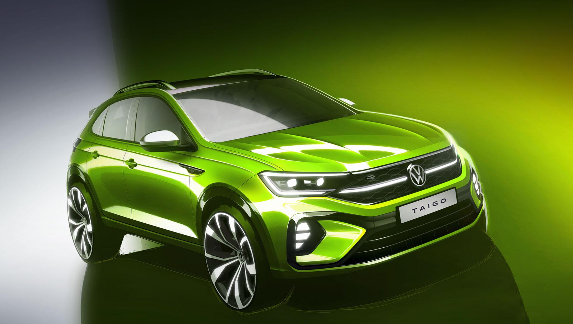 Субкомпакт Volkswagen Taigo для Европы стартует в конце года