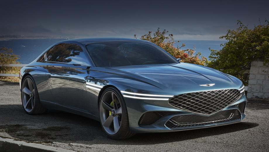 Genesis X Concept обрисовал преемника Hyundai Genesis Coupe