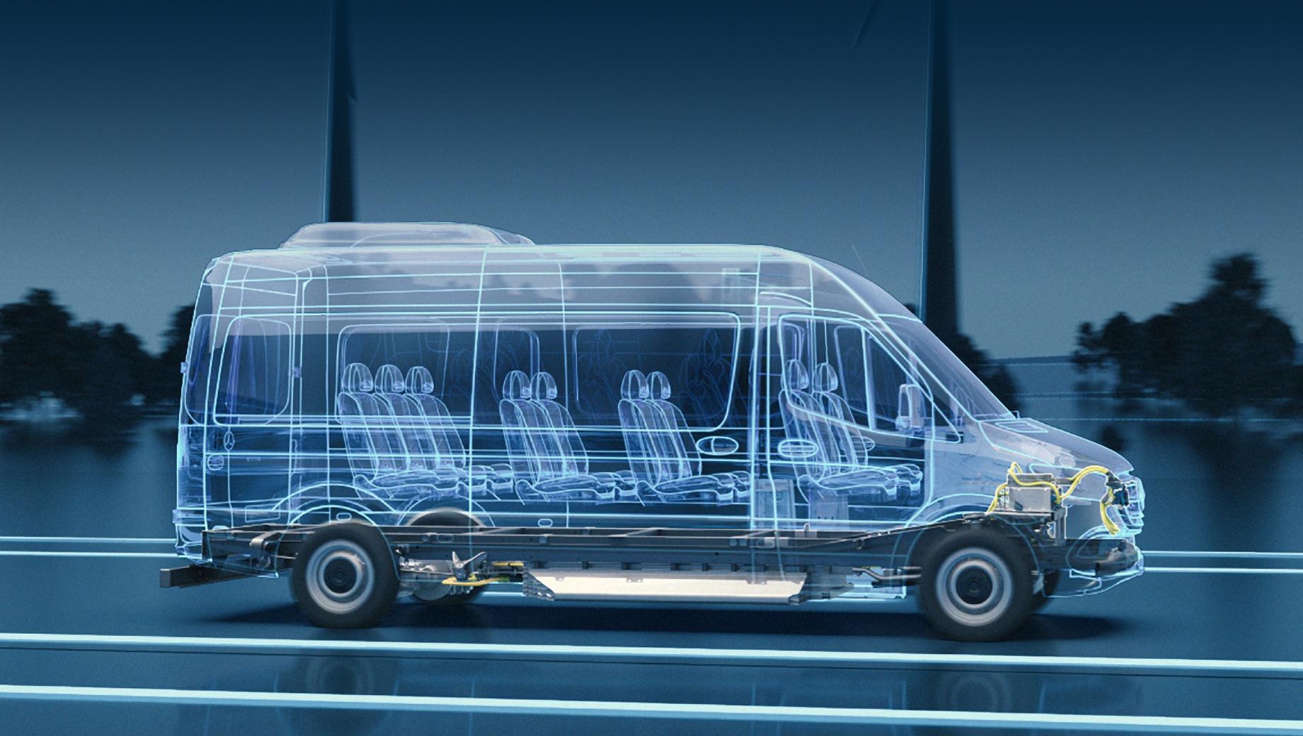Вэн Mercedes-Benz eSprinter расширит географию производства