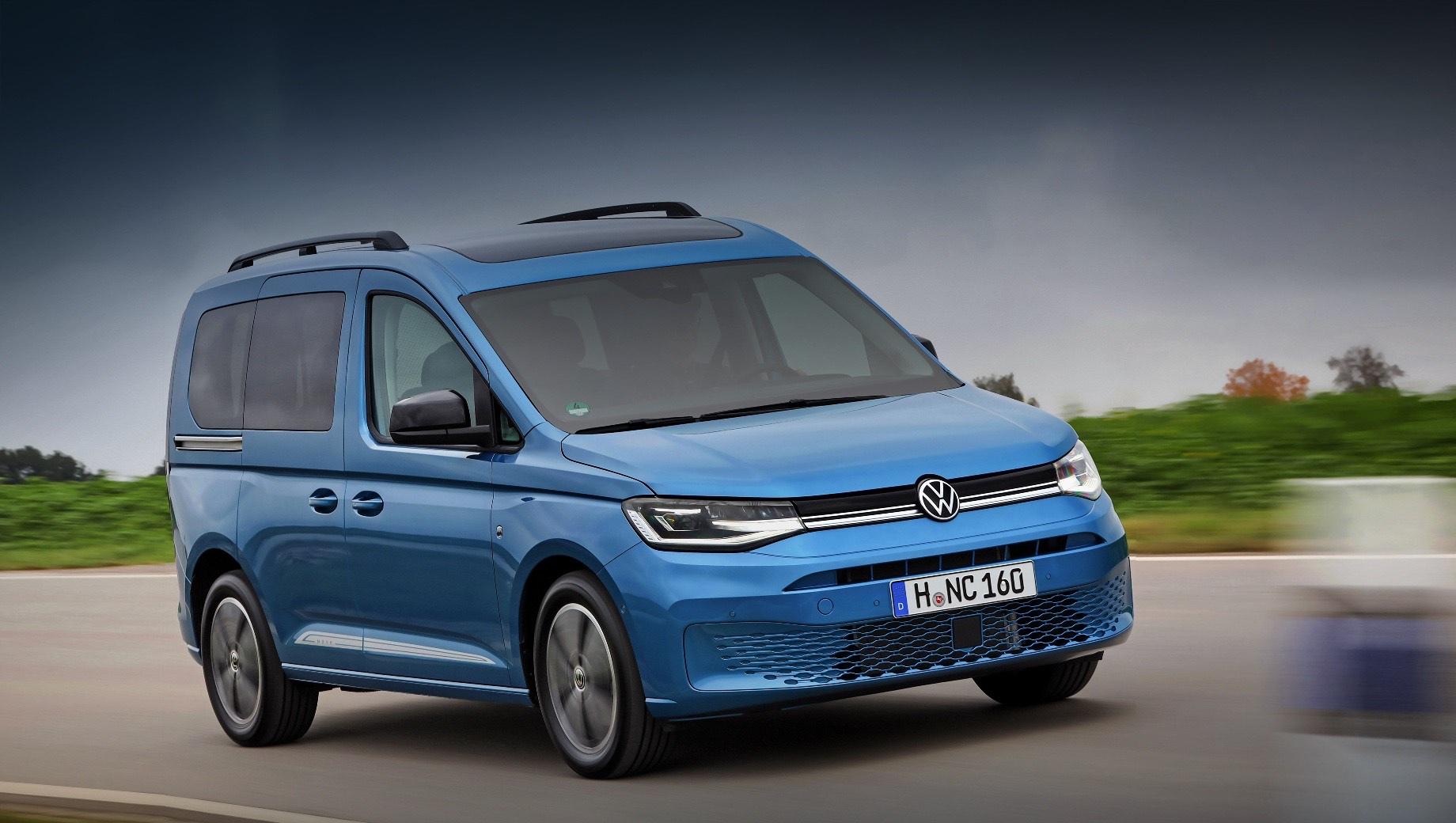 Новый Volkswagen Caddy оценён почти в два миллиона рублей
