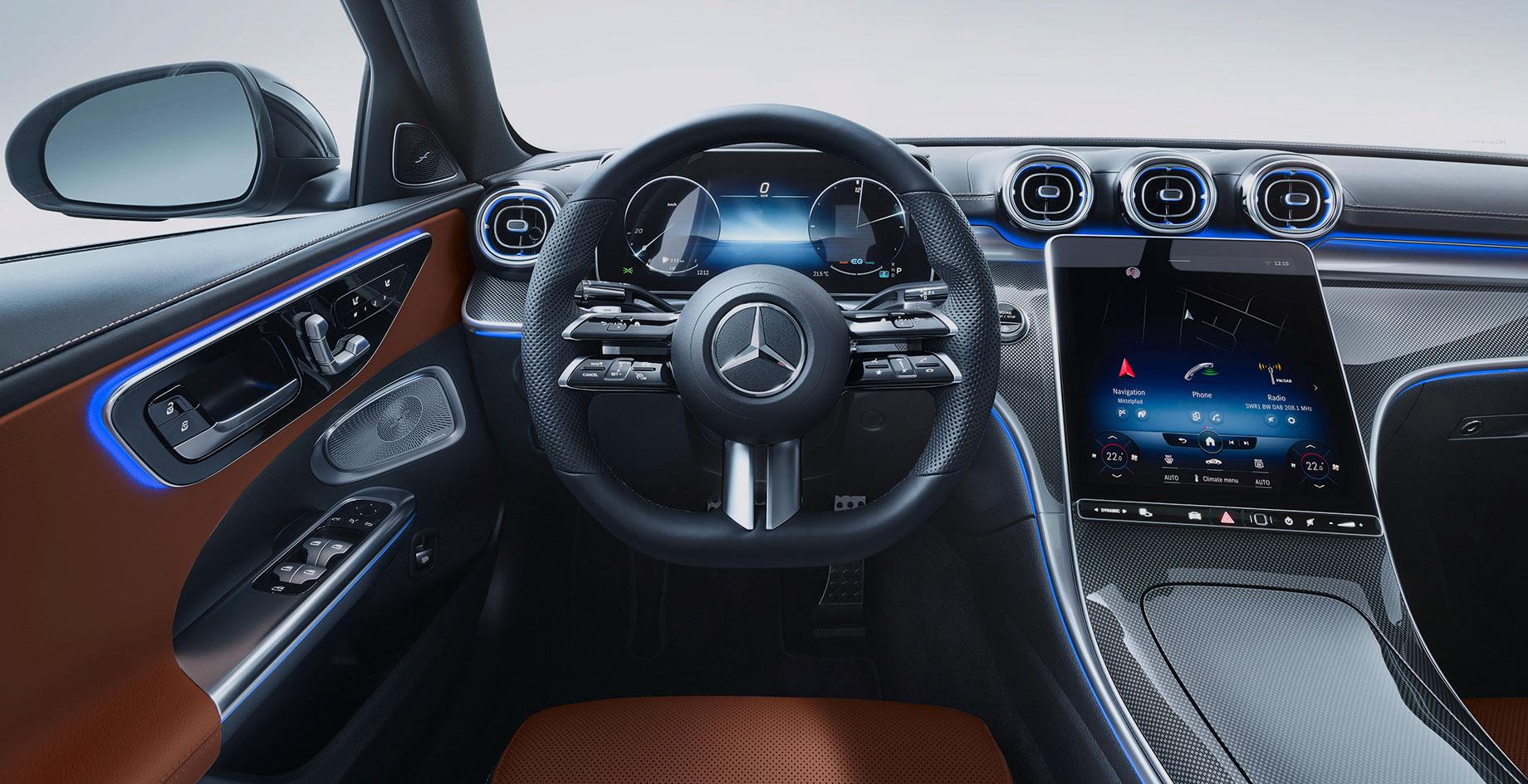 Названы цены на новый седан Mercedes-Benz C-класса