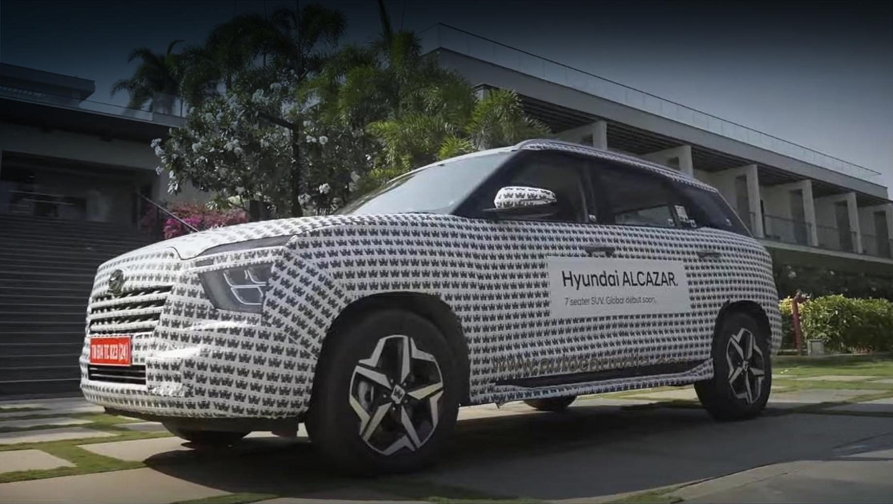 Дополнено: Hyundai Alcazar предложит Индии семь мест