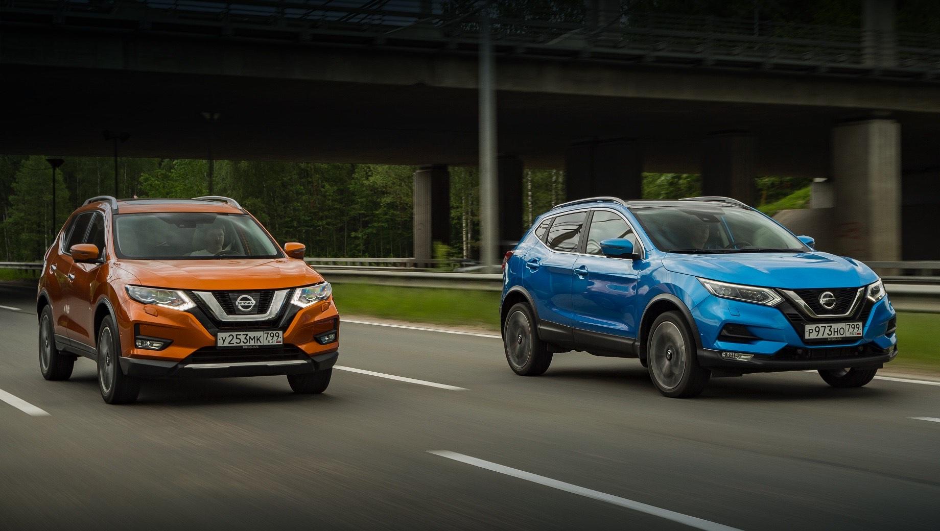 Российские Nissan Qashqai и X-Trail обзавелись полуавтопилотом