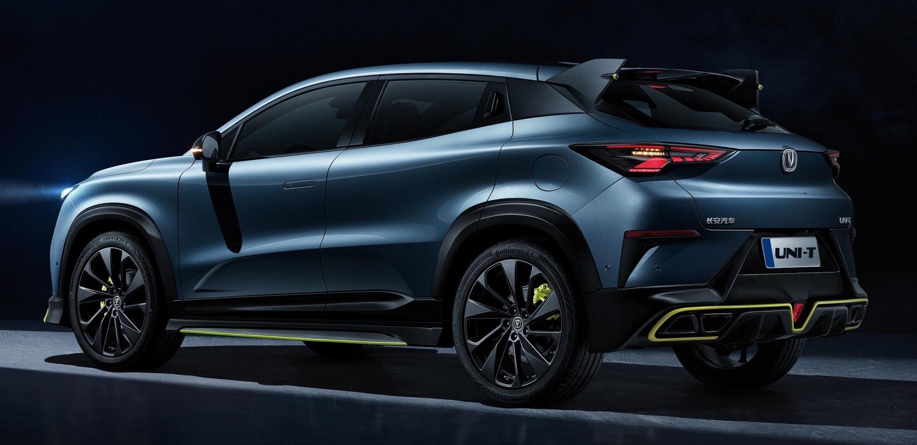 Компакт Changan Uni-T прибавит сил в новой версии Sport