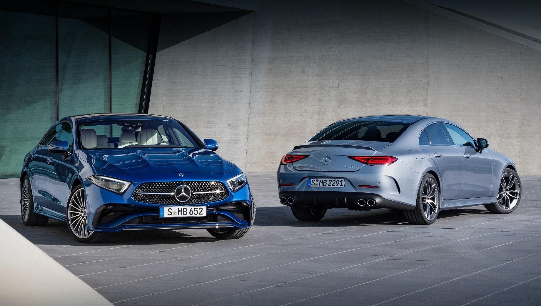 Седану Mercedes CLS подретушировали внешность и салон