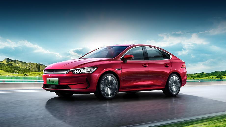 Седан BYD Qin Plus EV получил три батареи на выбор