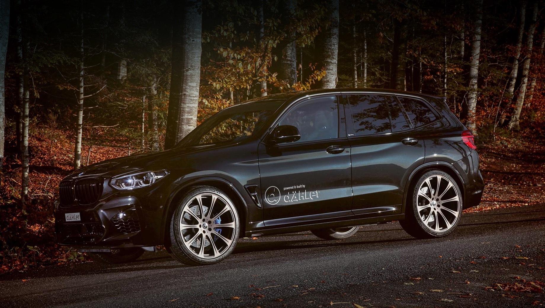 Кроссовер BMW X3 M разжился 650 силами в ателье dÄHLer