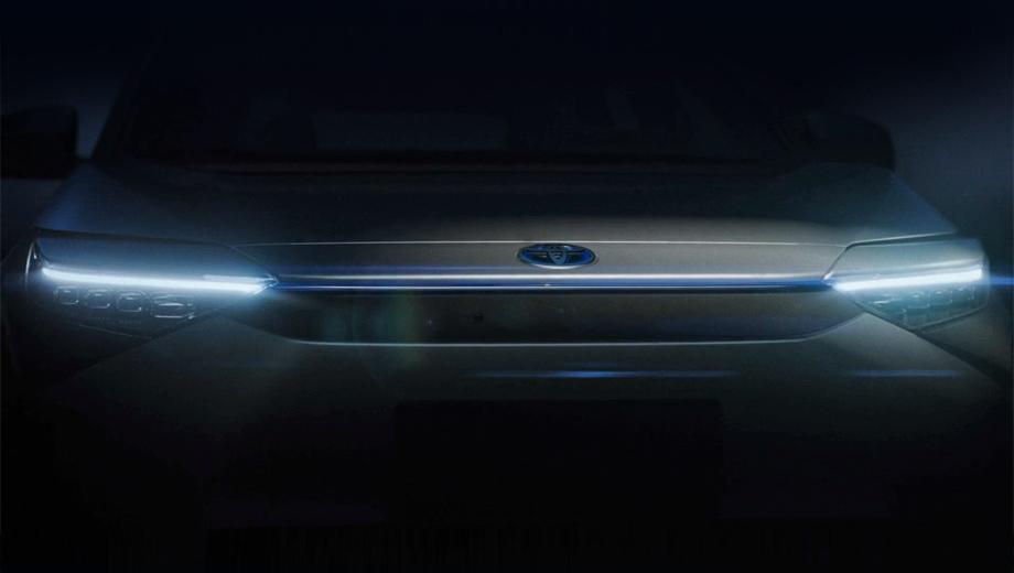 Электрический паркетник марки Toyota дебютирует в Шанхае