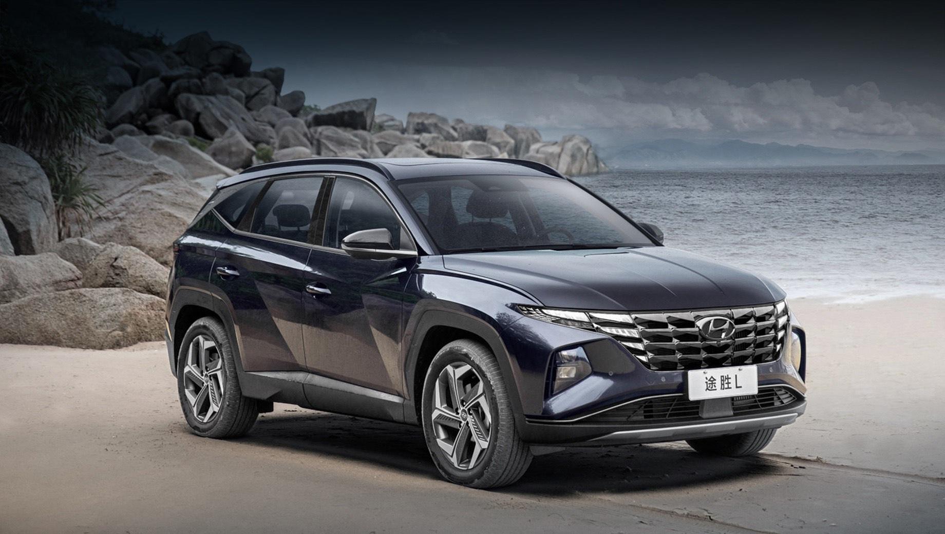 Китайский Hyundai Tucson L получил оригинальный мотор