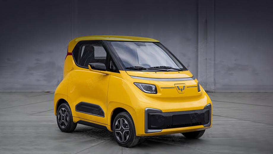 Сити-кар Wuling Nano EV будет привлекать дешевизной