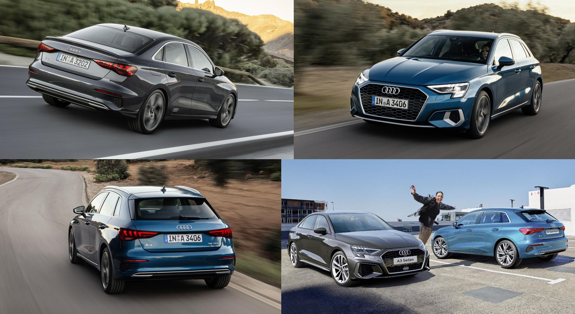 Дополнено: Седан и хэтчбек Audi A3 оценены в рублях