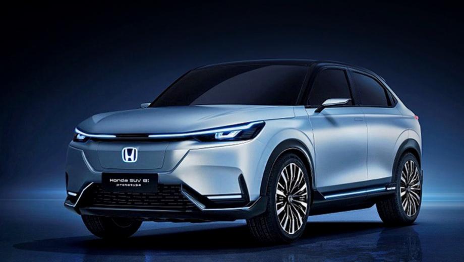 Электрическая Honda HR-V показалась в виде прототипа