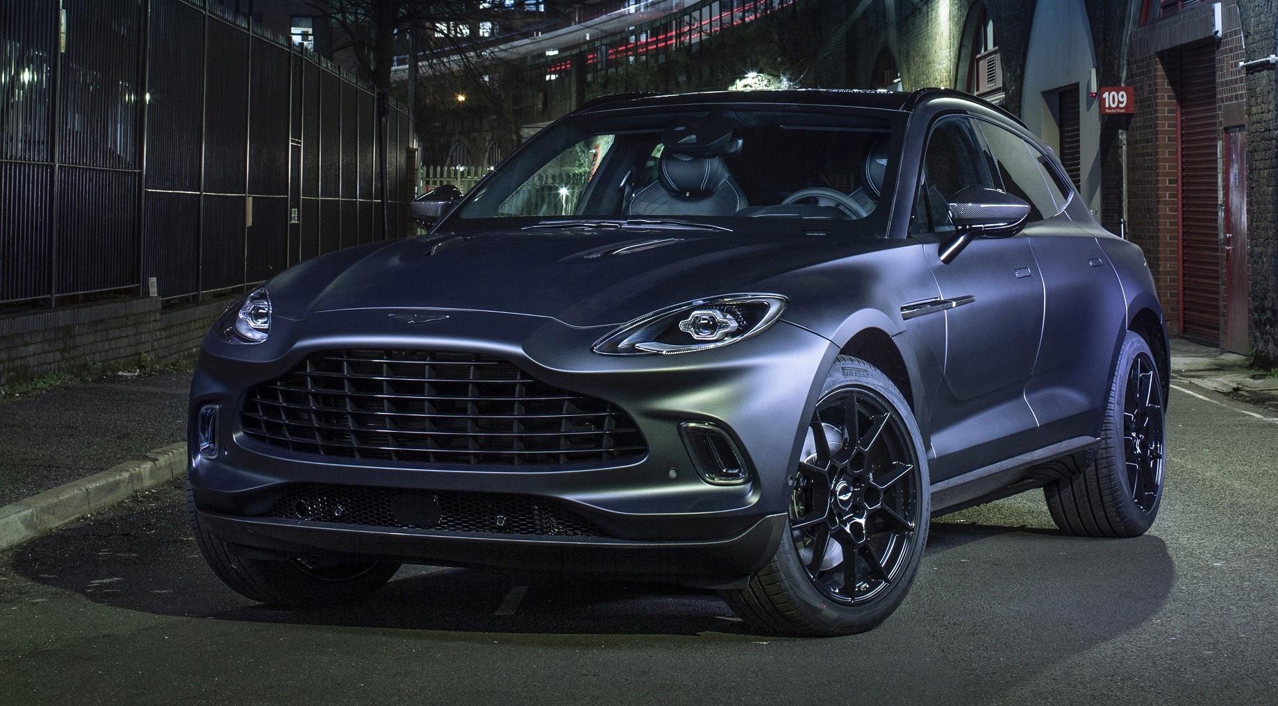 Все модели Aston Martin получат начинку от AMG