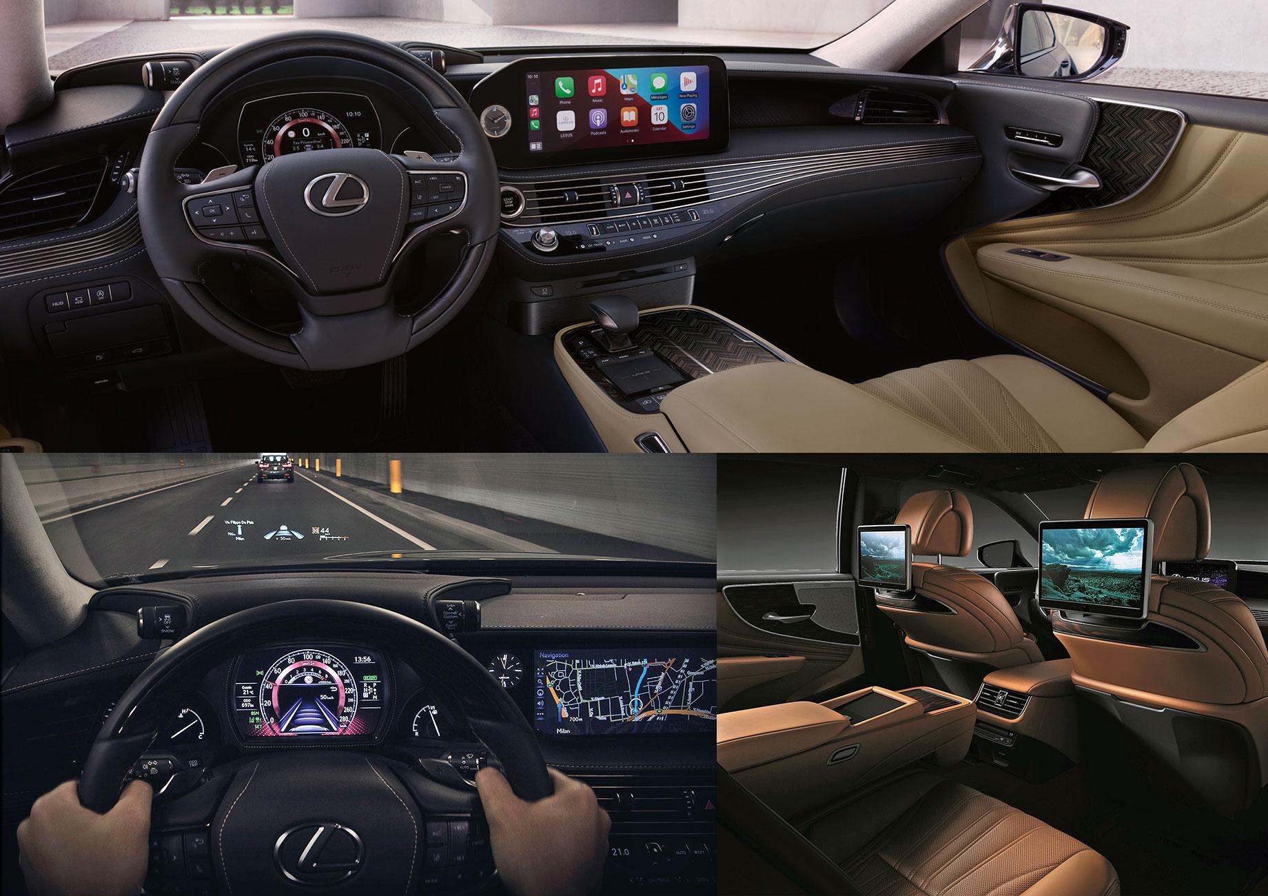 Обновлённый Lexus LS предъявил рублёвые ценники