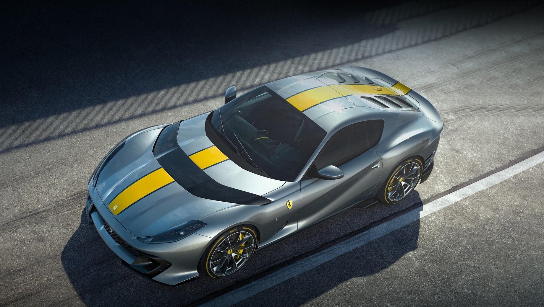 Спецверсия Ferrari 812 Superfast удостоится собственного имени