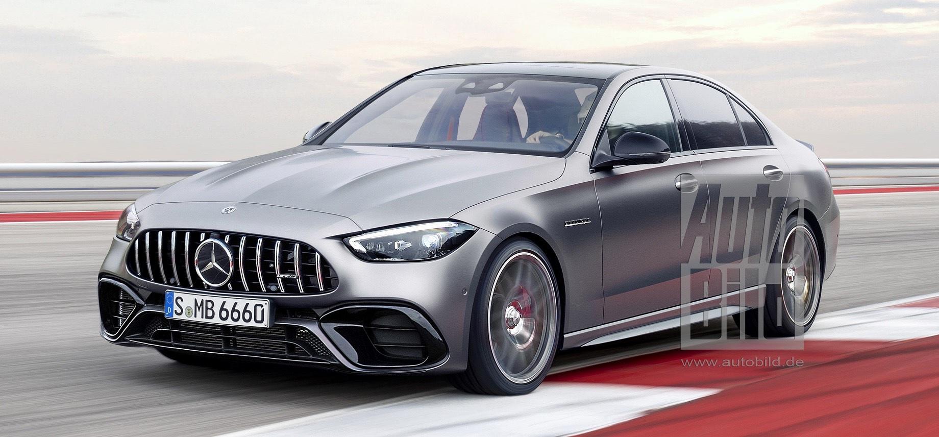 Mercedes-AMG C 43 обзаведётся начинкой от родстера SL