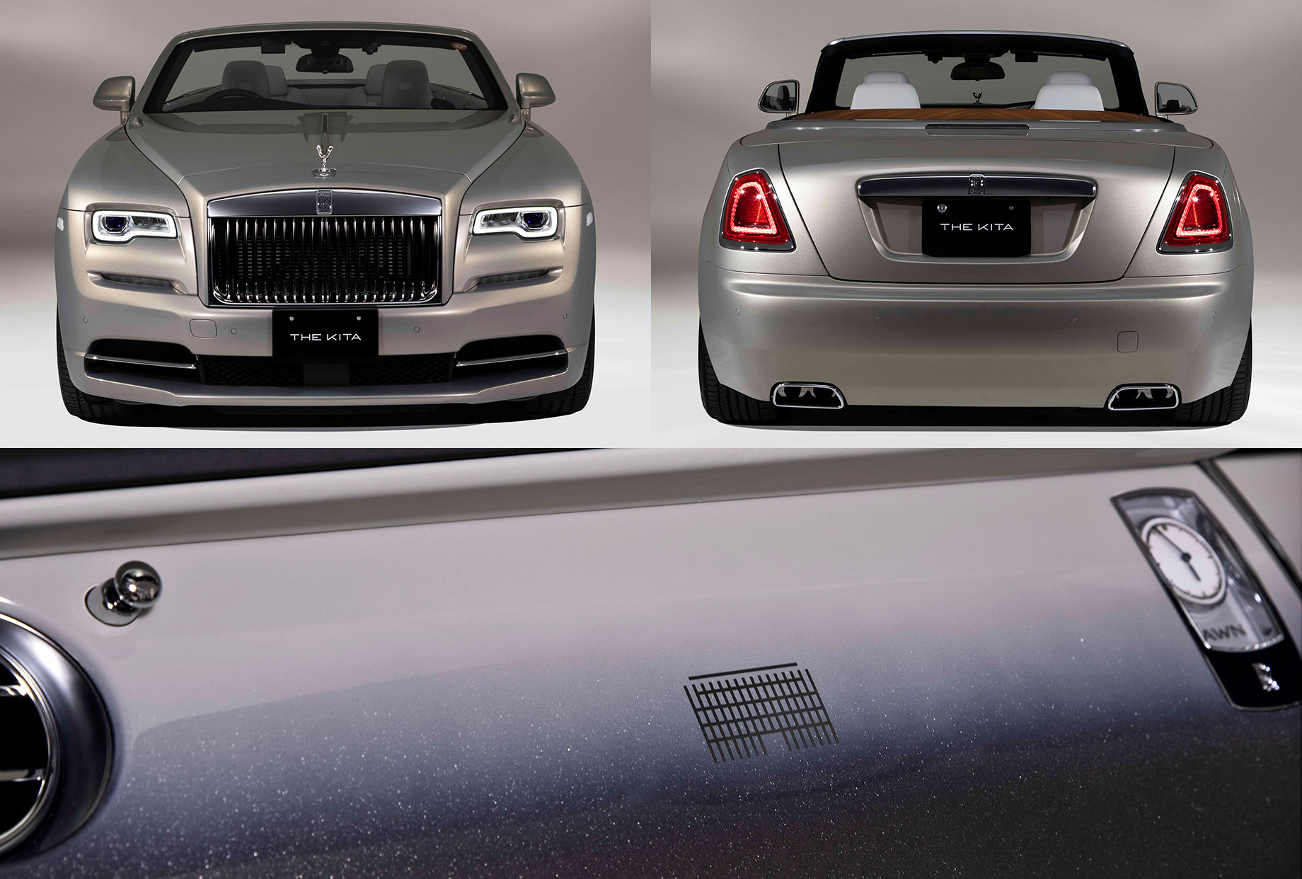 Rolls-Royce Dawn The Kita «вдохновился» архитектурой