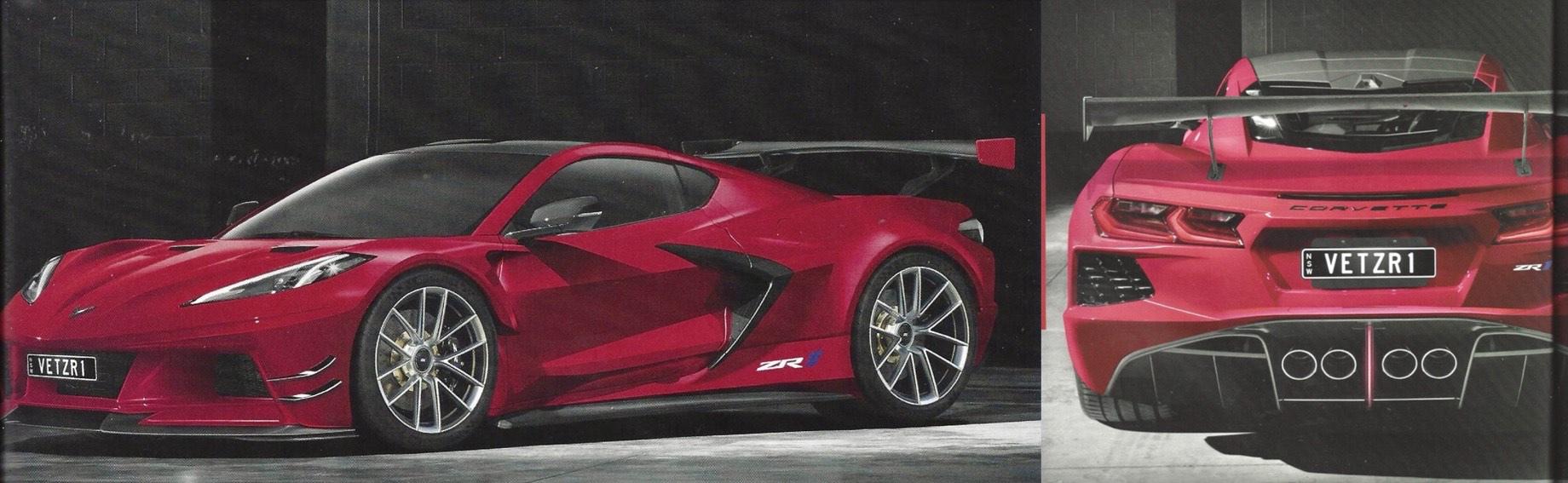 Corvette C8 обзаведётся полноприводными версиями