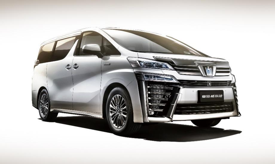 Toyota Crown Kluger возглавила китайскую линейку Краунов