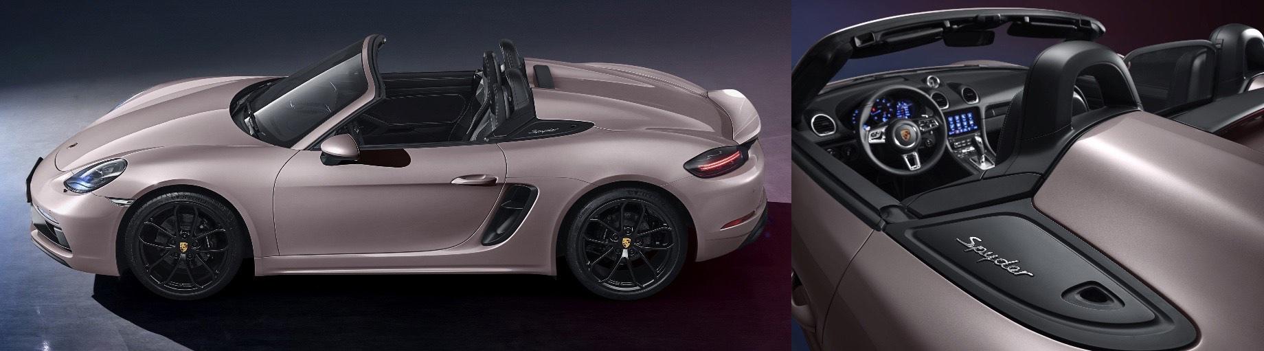 Уникальный Porsche 718 Spyder